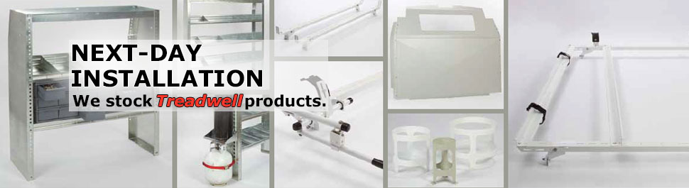 Next-day Installation: We stock Treadwell products.
